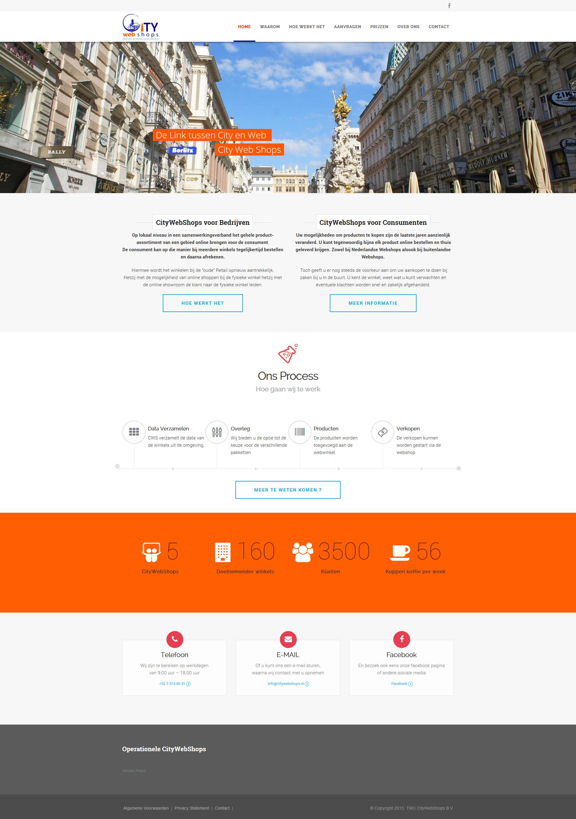 CityWebShops - Homepage